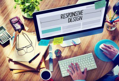 Responsivt design gør siden tilgængelig også for smartphones