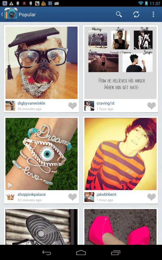 Instagram med flere konti 6