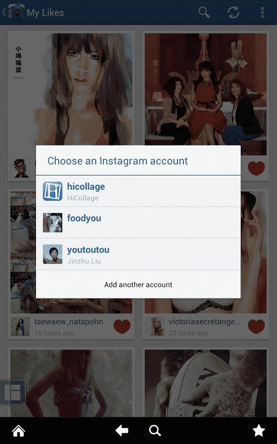 Instagram med flere konti 7