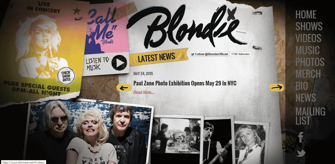 Blondie - blondie.net