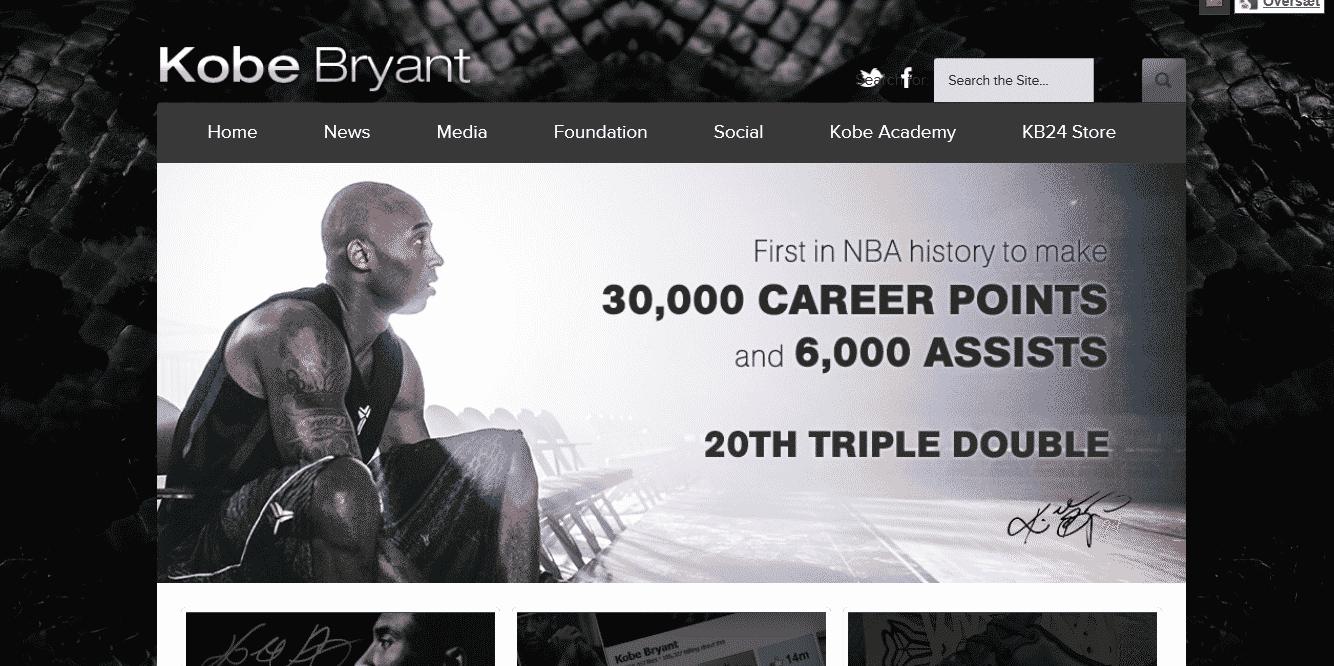 Kobe Bryant - kobebryant.com