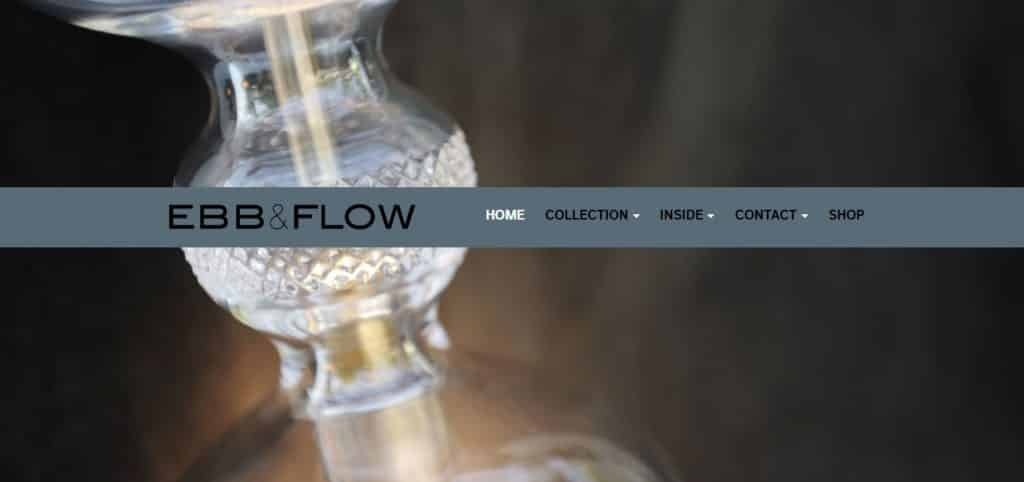 Webdesign EBB & FLOW