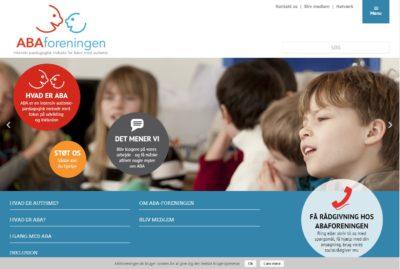 ABA foreningens hjemmeside
