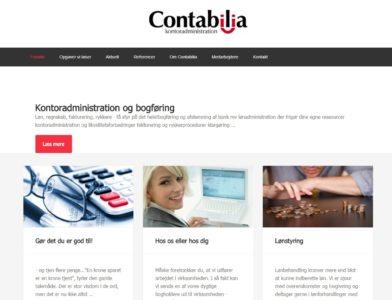 Contabilia website