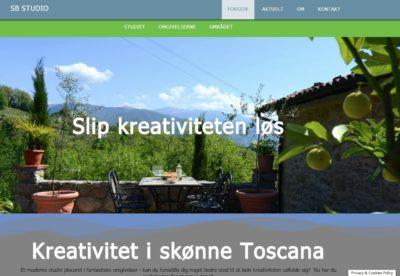 Kreativitet i Italien, SB Studio screenshot