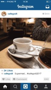 Få brugerne til at markedsføre virksomheden på Instagram