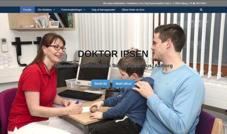 Speciallæge Doktor Ipsen, forside