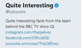 Underholdende Twitter profiler 1
