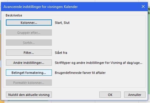Hvordan skifter jeg automatisk farve på aftaler i Outlook? 3