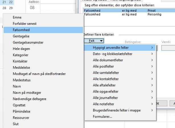 Hvordan skifter jeg automatisk farve på aftaler i Outlook? 10
