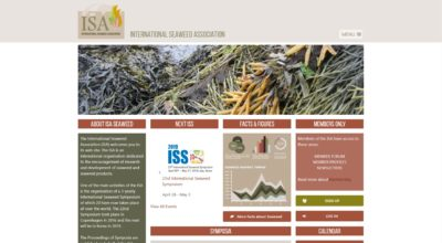 ISA INTERNATIONAL SEAWEED ASSOCIATION