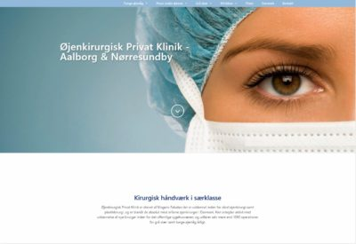 Øjenkirurgisk Privatklinik screenshot