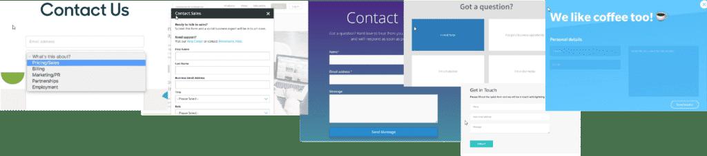 Kontaktformular er et vigtigt element i din kontakt med brugeren