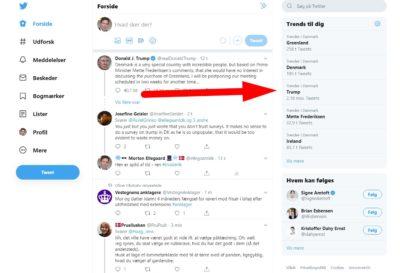 Det er nemt at finde de mest brugte hashtags på Twitter