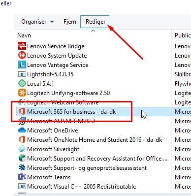 Outlook søgning virker ikke 3