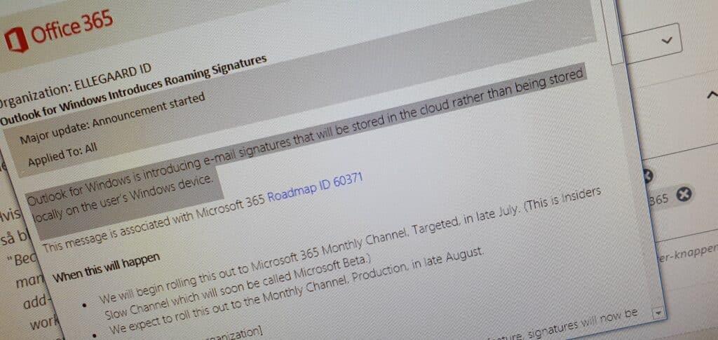 Signaturer i Outlook