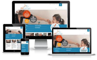 Visning af responsivt webdesign
